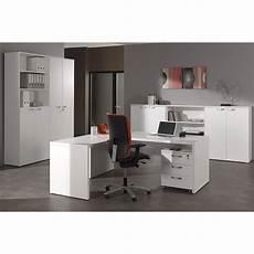 Bureau Meuble De Rangement Pour Bureau Coloris Blanc