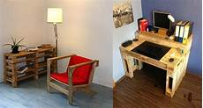 faire un bureau en bois que faire avec des palettes plus de 38 cr 233 ations originales