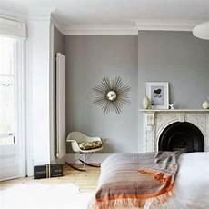 Wandfarbe Hellgrau Kamin Im Wohnzimmer Zuk 252 Nftige