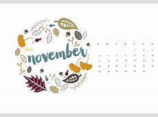 November 2018 Calendar Wallpaper   2019 Calendar Printable