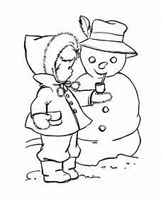 Malvorlagen Winter Jung Pin Di Winter Coloring Page