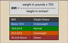 Understanding Bmi Mass Index And Your Weight Part 1