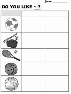 like sports worksheets 15833 quot do you like quot sports worksheet beginner elementary level efl