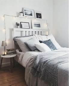 schlafzimmer dekorieren gemütlich gem 252 tliches schlafzimmer mit lichterkette dekoriert