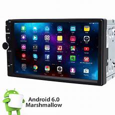 android 6 0 din car stereo radio gps wifi 3g obd2