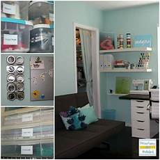 craft room simple spacious and all diy the cheap