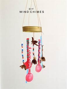Windspiel Basteln Mit Kindern - diy wind chimes handmade