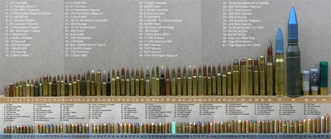 Bullet Comparison Chart