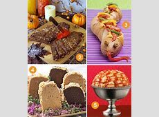 Creative Halloween Dinner Ideas // Hostess with the Mostess®