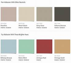 paint combinations for sherwin williams 2016 color of the year alabaster paint combinations