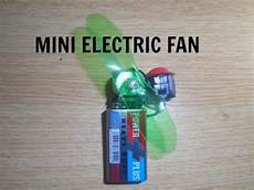 how to make a electric fan at home youtube