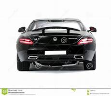 Collectible Sport Car Mercedes Back View Editorial Photo
