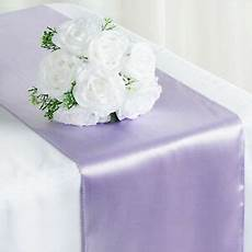 lavender satin 12x108 quot table runner wedding party catering decorations sale ebay