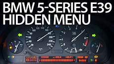 How To Enter Menu In Bmw E39 5 Series Service Test