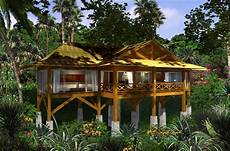 Home Emerges From The Jungles homes on stilts jungle house on stilts