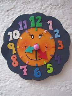 mis cositas en goma reloj aprender la hora