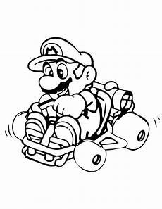 mario kart for children mario kart coloring pages