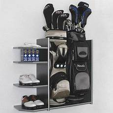 Garage Storage Ideas For Golf Clubs by I Would Do This As I 3 Sets Of Clubs But Do I Want To