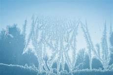 Abstrakter Auf Einem Fenster Im Winter Stockfoto