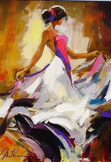 peinture femme moderne peinture abstraite au couteau acrylique facile avec maxresdefault et modele tableau