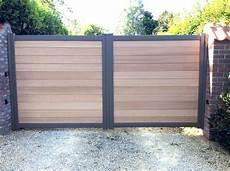 portail en bois portail aluminium et bois www toriportails be en 2019