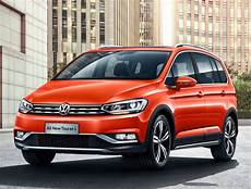 volkswagen touran gets a crossover version in china and it