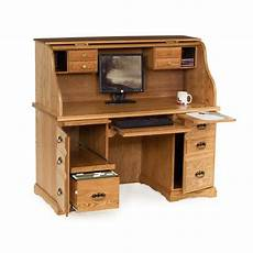 55 quot roll top computer desk country furniture country furniture