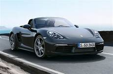 2017 porsche 718 boxster revealed with new turbo engines