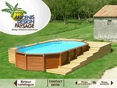 piscine hors sol kinderzimmers terrasse bois piscine hors sol zoom 3