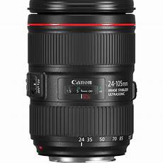 canon ef 24 105mm f4l is ii usm lens