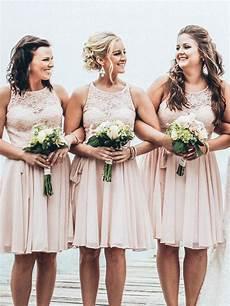short bridesmaid dress lace bridesmaid dress summer beach wedding party dress cheap bridesmaid