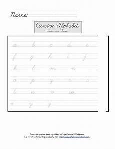 super teacher worksheets free tools for teaching cursive writing popsugar moms photo 4