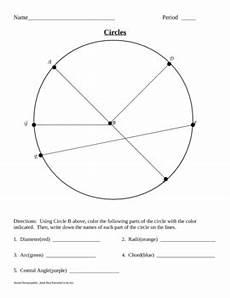 parts of a circle by knapp teachers pay teachers