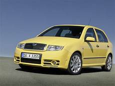 Skoda Fabia Rs 1 Yellow Car Skoda Cars