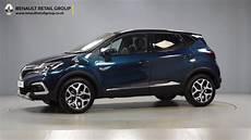 Renault Captur Gt Line Blue Black Roof