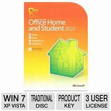 microsoft office home and student 2010 3 users