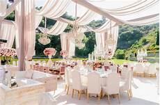 pink and ivory outdoor wedding reception in beverly hills revelry event designers