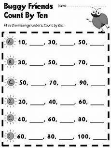 worksheets on skip counting by 10 s 11973 buggy friends count by ten free printable math worksheet education tips