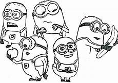 Malvorlagen Minions Um Minion Free Coloring Pages Printable With Two