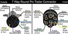 solved wiring diagram 7 trailer plug fixya