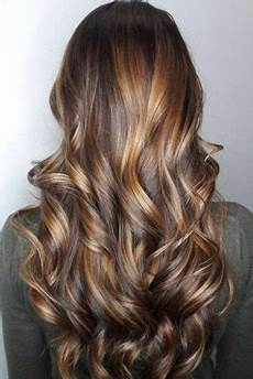 Brown Hair With Balayage Caramel Highlights Hair World