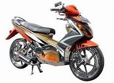 Nouvo Modif by Modif Yamaha Nouvo Chrome Kinclong Modif Sepeda Motor