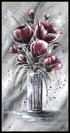 Acryl Malvorlagen Blumen Pin Auf Acryl Alerei