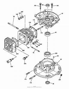 Cap Cycle Diagram by Snapper Wt1 125v 4 Hp 2 Cycle Robin Engine Parts Diagram