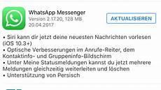 Neue Funktion Funktioniert Nicht Siri Sendet Noch Keine