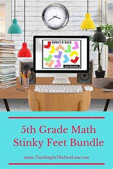 worksheets for elementary students 20289 5th grade math review stinky bundle math review 5th grade math math review