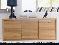 sideboard pisa 12 eiche bianco massiv 180x72x41 cm