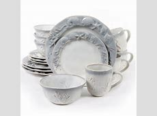 Gibson Seashore Bay 16 Piece Stoneware Dinnerware Set
