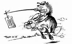 Ausmalbild Hase Und Igel Hase Und Igel Karikaturen Badische Zeitung