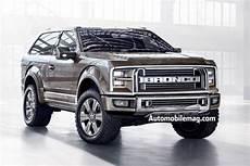 2017 Ford Bronco Is Coming Rumors Engine Diesel